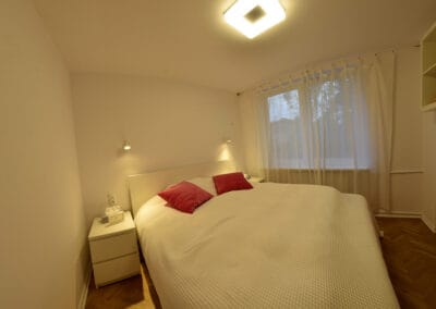 Sypialnia mieszkanie Lotaryńska